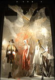 Window display at Bergdorf Goodman, NYC. Stock Photos