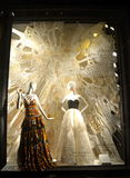 Window display at Bergdorf Goodman, NYC. Stock Image