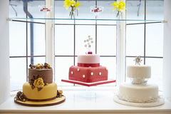 Window Display In Cake Decorating Shop Royalty Free Stock Images