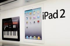 Window display of ipad Royalty Free Stock Photography