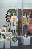 Window Display of the New Look store in Bracknell, England Stock Photo