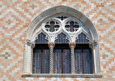 Window on Doges palace Stock Images