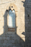 Window of the dominican monastery at Dubrovnik Royalty Free Stock Photo
