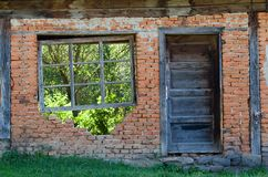 Window and door Stock Image