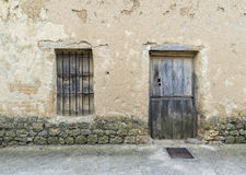 Window and door Royalty Free Stock Image