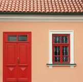 Window and door Stock Photo