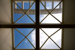 Window of enlightenment Royalty Free Stock Photos