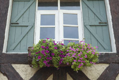 Window of European style home. Stock Photography