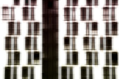Window facade abstract Stock Images