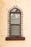 Window on facade of tavern Royalty Free Stock Image