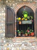 Window. The window of fairy tales Royalty Free Stock Photo