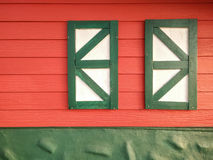 Window of farmhouse Stock Photography