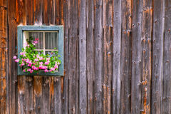 Window at a farmhouse royalty free stock photography