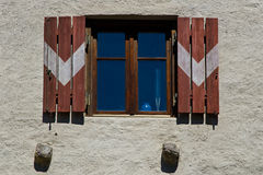Window feature South Tyrol Stock Image