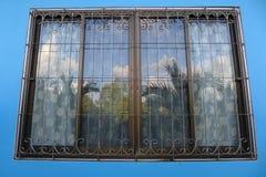 Window fence. Royalty Free Stock Photos