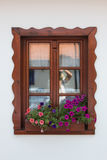 Window finishing. Stunning window finishing in house in Hungary Royalty Free Stock Images