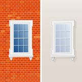 Window first Royalty Free Stock Image