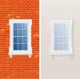 Window first. Vector illustration of the window vector illustration