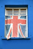 Window flag Royalty Free Stock Photo