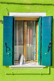 Window with flatiron Royalty Free Stock Image