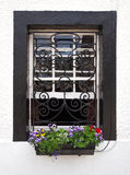Window and Flower Box Stock Photography