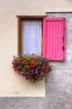 Window and flowers Royalty Free Stock Photos
