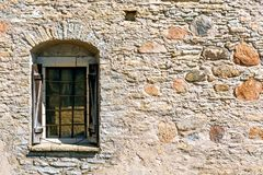 Window on the fortress wall