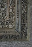 Window Frame. A traditional balinese window frame Stock Photos