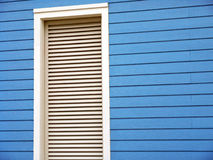 Window frame with blinds Stock Photos