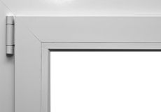 Window frame corner Royalty Free Stock Photo