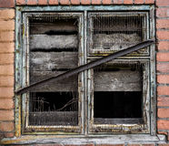 Window Frame Grunge Stock Images