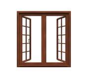 Window Frame Isolated Stock Photo