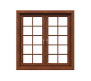 Window Frame Isolated Royalty Free Stock Photos