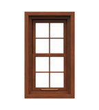 Window Frame Isolated Stock Photo