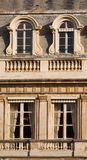 Window frame Paris France Royalty Free Stock Images