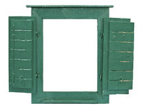 Window frame for picture Royalty Free Stock Photography