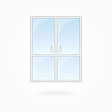 Window frame vector illustration, Eps 10 Stock Images