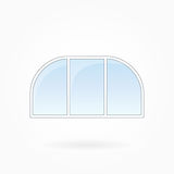 Window frame vector illustration, Eps 10 Royalty Free Stock Images