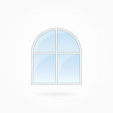 Window frame vector illustration, Eps 10 Royalty Free Stock Photography