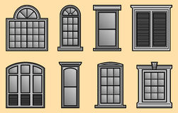 Window Frames Stock Photo