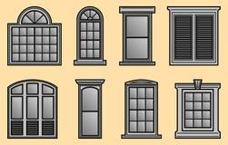 Window Frames Stock Photo