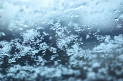 Window frost Royalty Free Stock Image