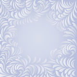 Window frost. Vector image of window frost frame Royalty Free Stock Photo