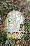 Window in garden fence Royalty Free Stock Images