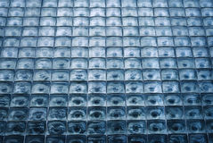 Window of glass cubes Stock Photography