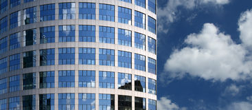 Window glass facade office building Royalty Free Stock Photography