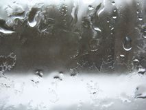Window glass and rain drops Stock Photography
