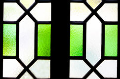 Window glass for texture background design. Stock Images