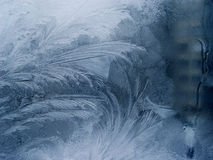 Window-glass2 congelado foto de archivo