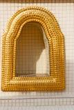 Window    gold     bangkok  thailand incision of the Stock Photo
